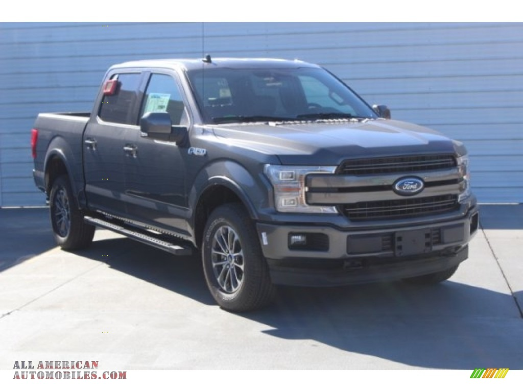 2019 F150 XLT Sport SuperCrew 4x4 - Magnetic / Black photo #2