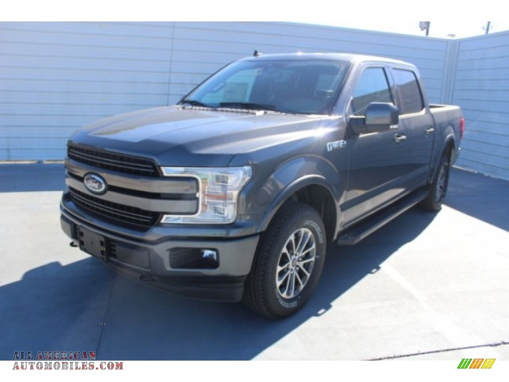 2019 F150 XLT Sport SuperCrew 4x4 - Magnetic / Black photo #4
