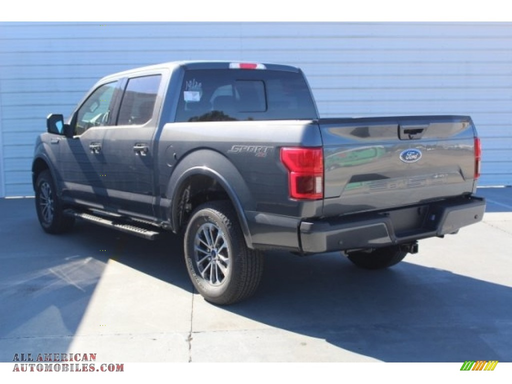 2019 F150 XLT Sport SuperCrew 4x4 - Magnetic / Black photo #6