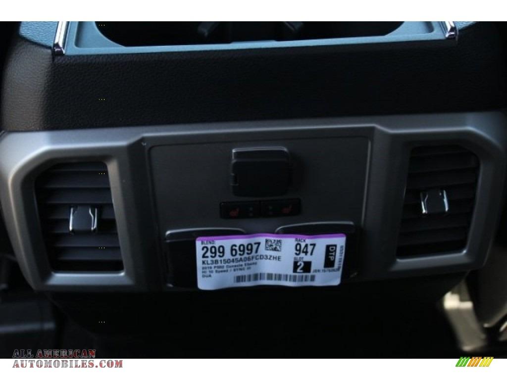 2019 F150 XLT Sport SuperCrew 4x4 - Magnetic / Black photo #21