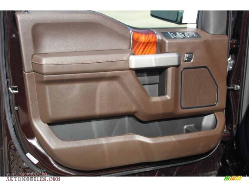 2019 F150 King Ranch SuperCrew 4x4 - Magma Red / King Ranch Kingsville/Java photo #9