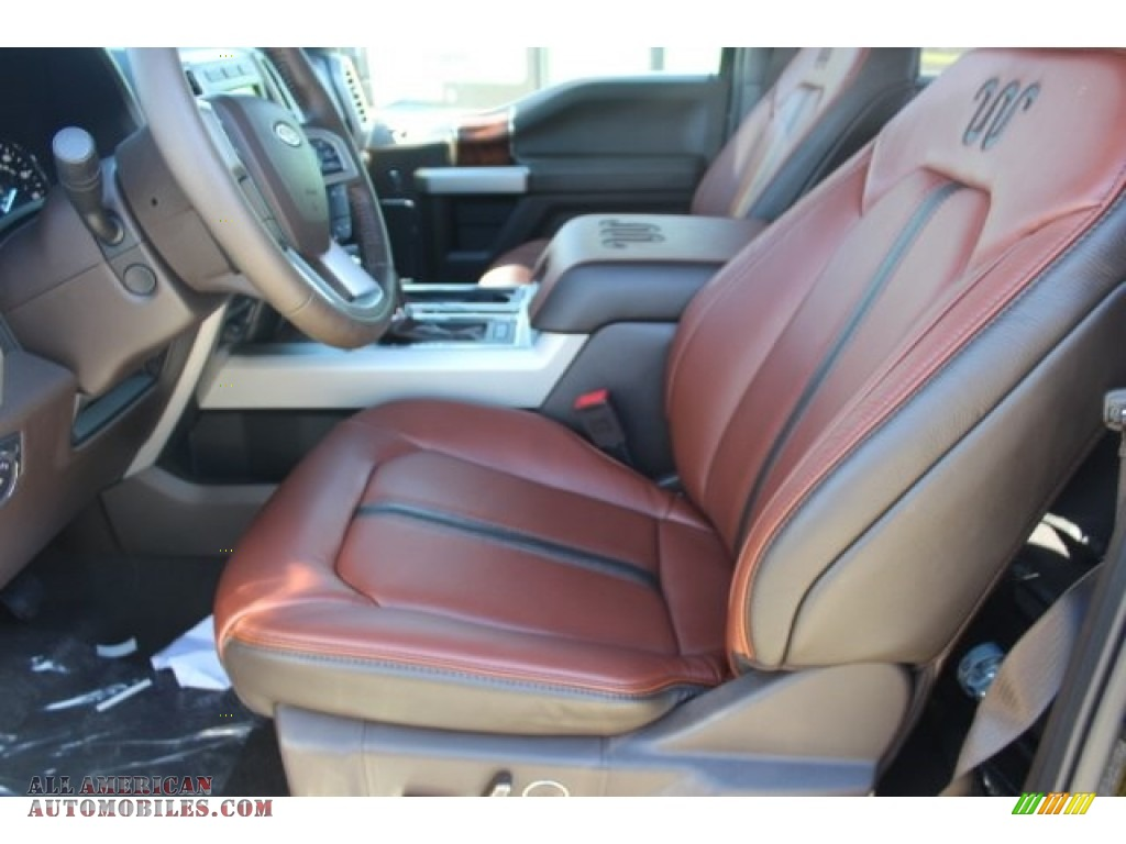 2019 F150 King Ranch SuperCrew 4x4 - Magma Red / King Ranch Kingsville/Java photo #10