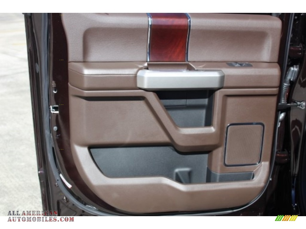 2019 F150 King Ranch SuperCrew 4x4 - Magma Red / King Ranch Kingsville/Java photo #23