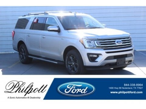 Ingot Silver Metallic 2019 Ford Expedition XLT 4x4