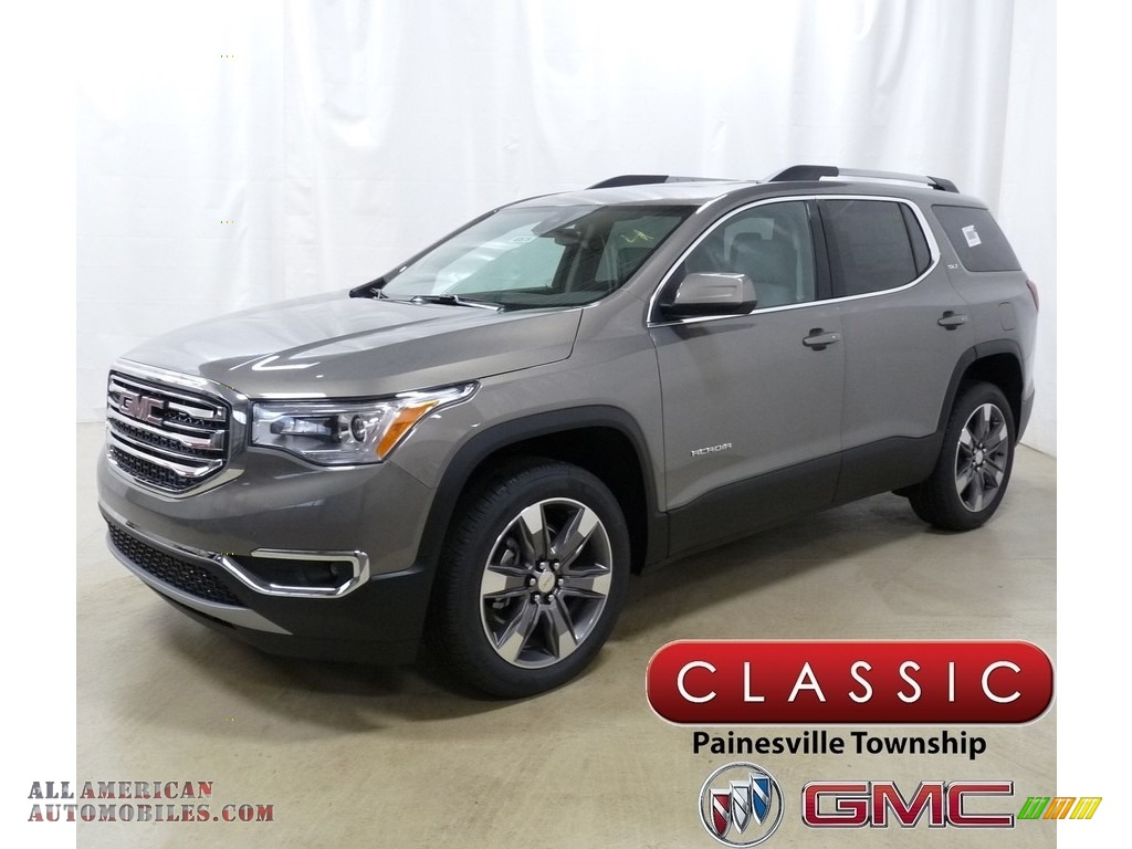 2019 Acadia SLT AWD - Pepperdust Metallic / Cocoa/Light Ash Gray photo #1