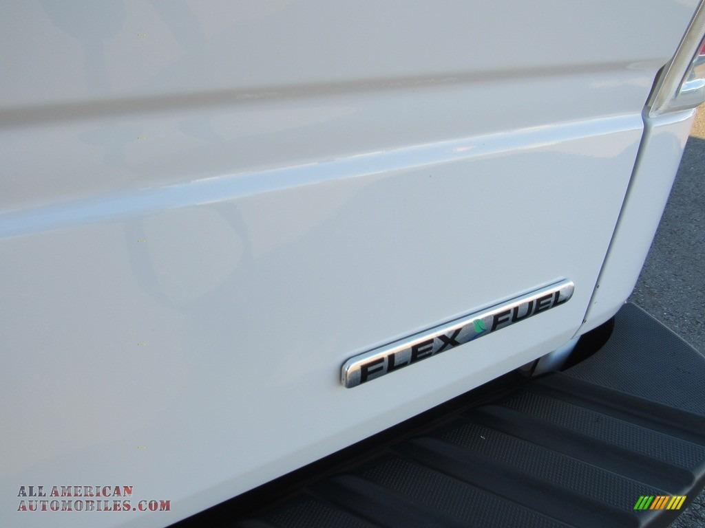 2012 F150 XL Regular Cab - Oxford White / Steel Gray photo #22