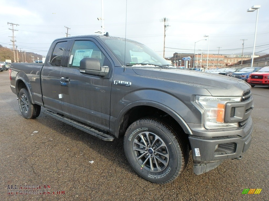 2019 F150 XLT SuperCab 4x4 - Magnetic / Black photo #8