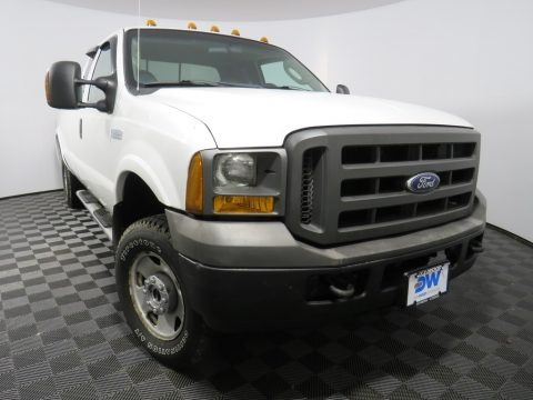 Oxford White 2005 Ford F250 Super Duty XL SuperCab 4x4