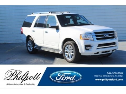Oxford White 2017 Ford Expedition Limited