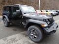Jeep Wrangler Unlimited Sport 4x4 Black photo #7