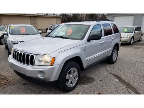 Bright Silver Metallic 2005 Jeep Grand Cherokee Limited 4x4