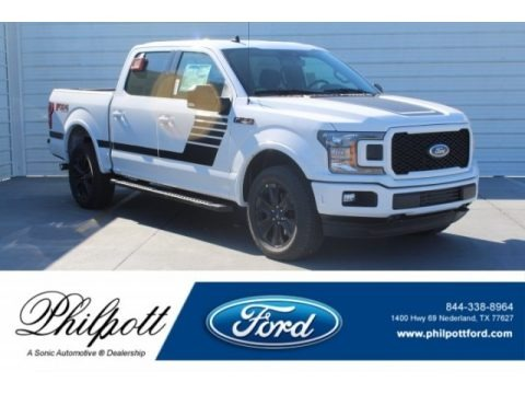 Oxford White 2019 Ford F150 XLT Sport SuperCrew 4x4