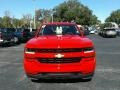 Chevrolet Silverado 1500 Custom Crew Cab 4x4 Red Hot photo #8