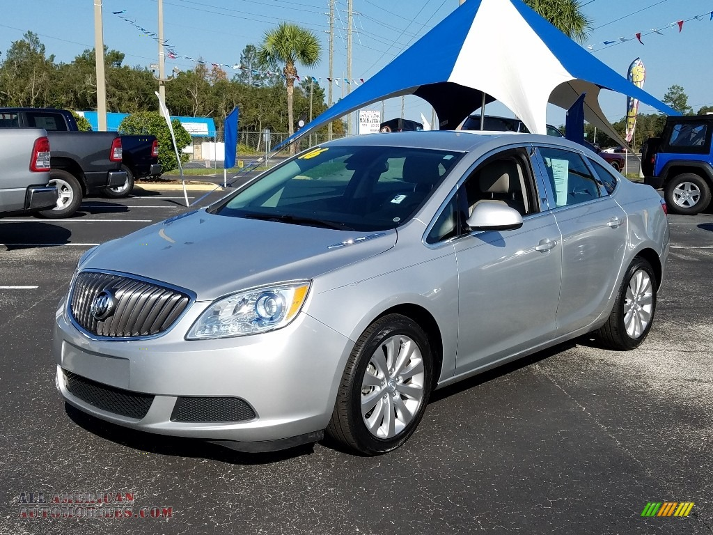Quicksilver Metallic / Medium Titanium Buick Verano Verano Group