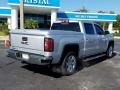 GMC Sierra 1500 SLT Crew Cab 4WD Quicksilver Metallic photo #5