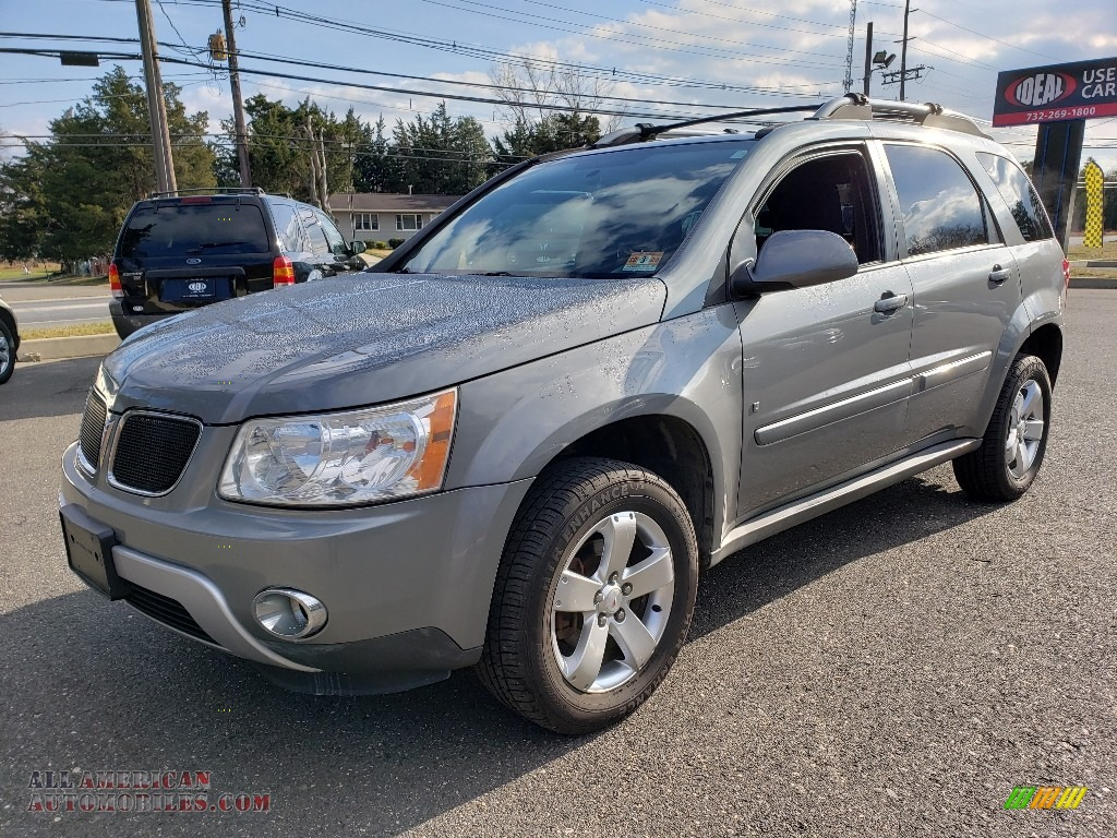 Stone Gray Metallic / Ebony Black Pontiac Torrent