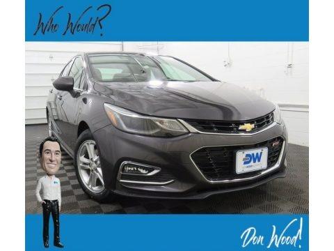 Nightfall Gray Metallic 2017 Chevrolet Cruze LT