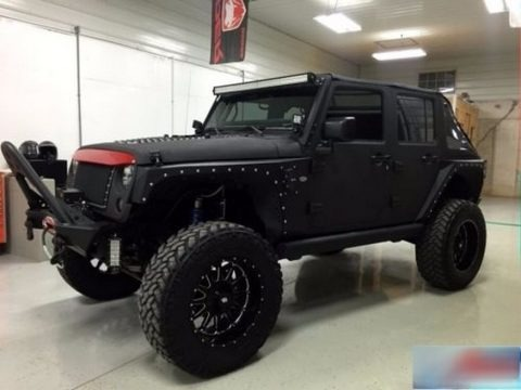 Black 2010 Jeep Wrangler Unlimited Sport 4x4