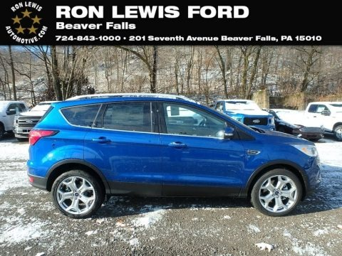 Lightning Blue 2019 Ford Escape Titanium 4WD