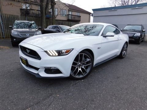 Oxford White 2016 Ford Mustang GT Premium Coupe