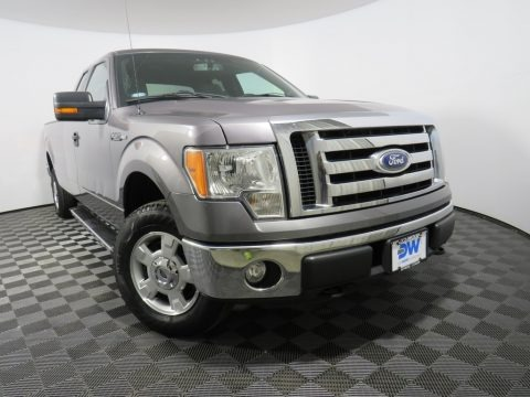 Sterling Gray Metallic 2012 Ford F150 XLT SuperCab 4x4