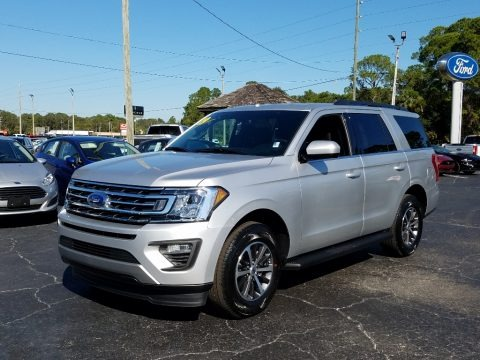 Ingot Silver Metallic 2019 Ford Expedition XLT