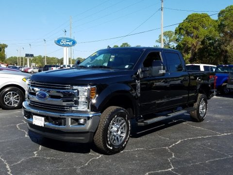 Agate Black 2019 Ford F250 Super Duty Lariat Crew Cab 4x4