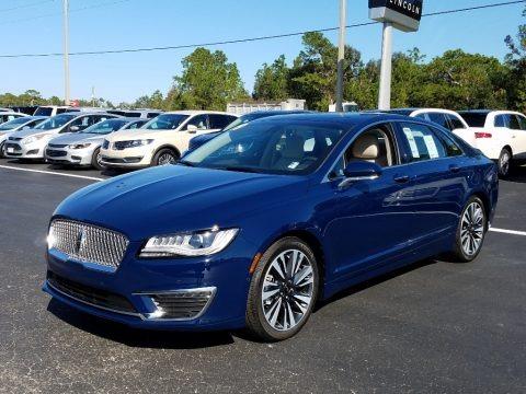 Rhapsody Blue 2019 Lincoln MKZ Hybrid Reserve II