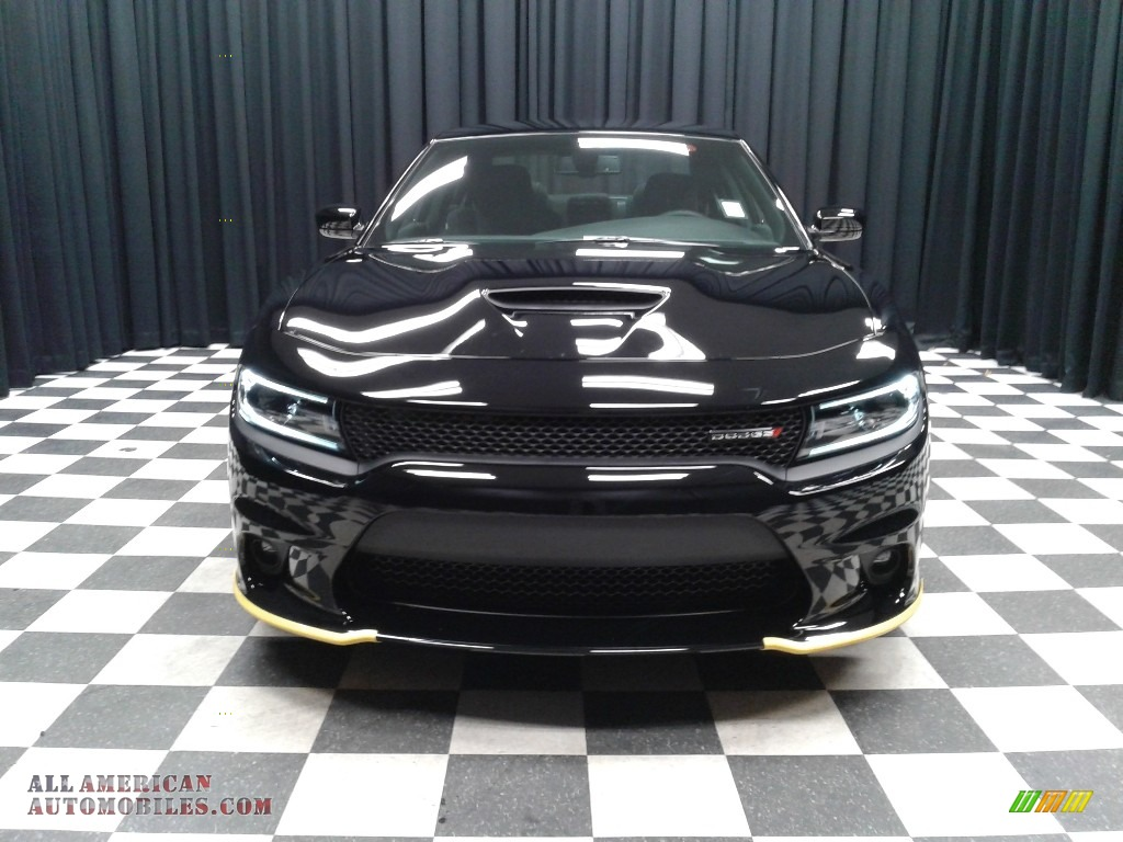 2019 Charger R/T - Pitch Black / Black photo #3