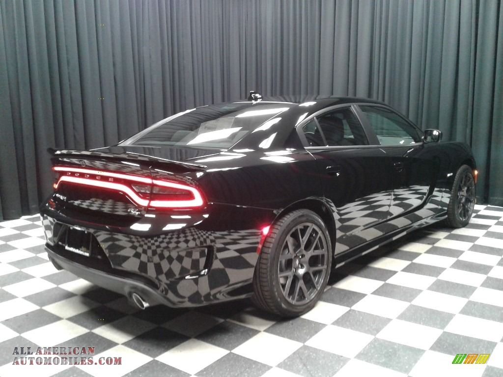 2019 Charger R/T - Pitch Black / Black photo #6