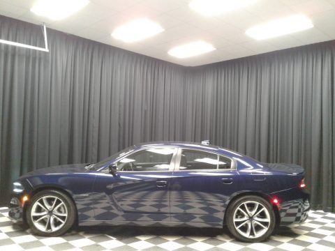 Jazz Blue Pearl Coat 2016 Dodge Charger R/T