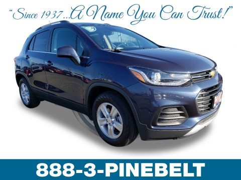Storm Blue Metallic 2019 Chevrolet Trax LT