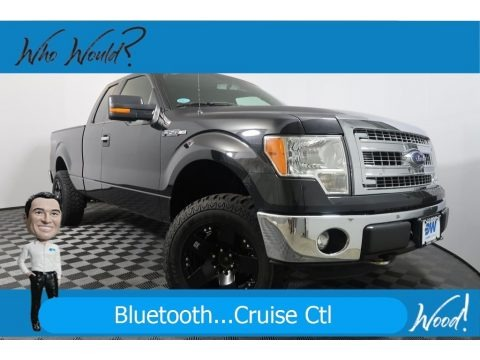 Tuxedo Black Metallic 2013 Ford F150 XLT SuperCab 4x4