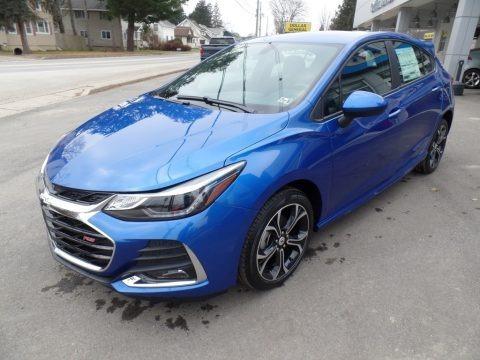 Kinetic Blue Metallic 2019 Chevrolet Cruze LT Hatchback