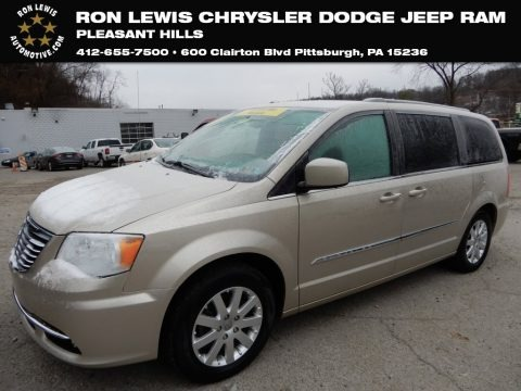 Cashmere Pearl 2014 Chrysler Town & Country Touring