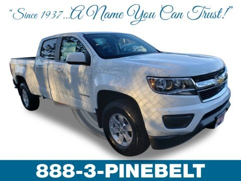 Summit White 2019 Chevrolet Colorado WT Crew Cab