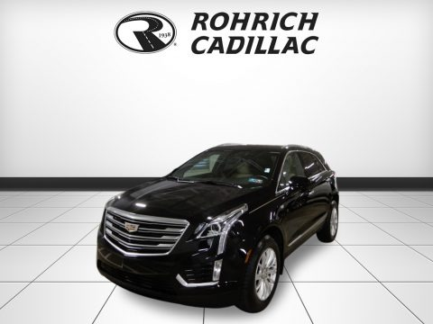 Stellar Black Metallic 2017 Cadillac XT5 FWD