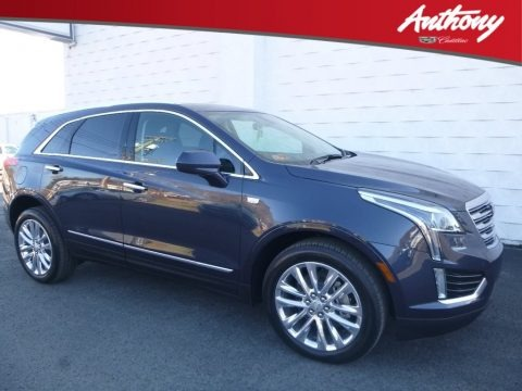 Harbor Blue Metallic 2019 Cadillac XT5 Luxury AWD