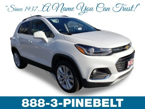 Summit White 2019 Chevrolet Trax Premier AWD