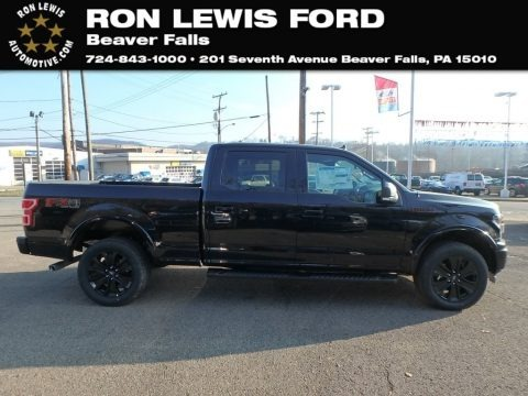 Agate Black 2019 Ford F150 XLT Sport SuperCrew 4x4