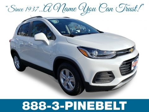 Summit White 2019 Chevrolet Trax LT
