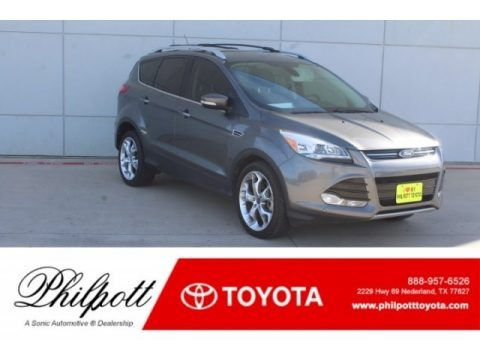 Sterling Gray Metallic 2013 Ford Escape Titanium 2.0L EcoBoost