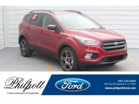 Ruby Red 2019 Ford Escape SEL