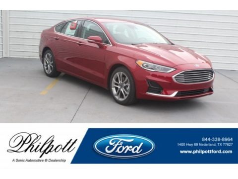 Ruby Red 2019 Ford Fusion SEL