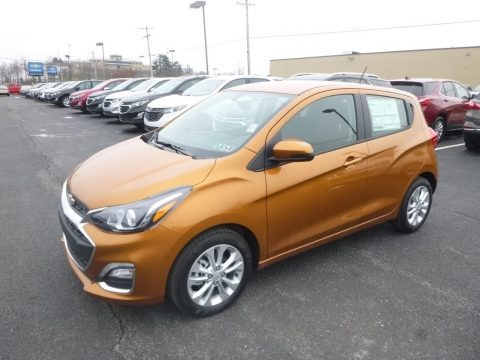 Orange Burst Metallic 2019 Chevrolet Spark LT