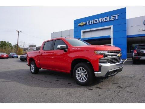 Red Hot 2019 Chevrolet Silverado 1500 LT Crew Cab