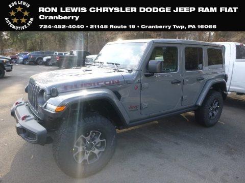 Sting-Gray 2019 Jeep Wrangler Unlimited Rubicon 4x4