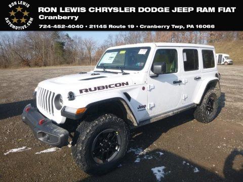 Bright White 2019 Jeep Wrangler Unlimited Rubicon 4x4