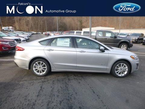 Ingot Silver 2019 Ford Fusion Hybrid SE