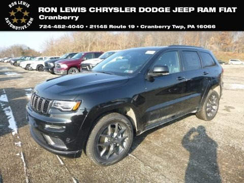 Diamond Black Crystal Pearl 2019 Jeep Grand Cherokee Limited 4x4